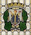 Leipzig Reichsgericht Sitzungssaal Wappen München.jpg