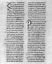 "A carta papal ""Industriae tuae"""