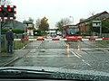 Level crossing in Simpson Road - geograph.org.uk - 1586821.jpg
