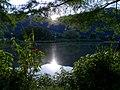 Lever du soleil sur le plan d'eau de Challes-les-Eaux (juin 2020) 1.JPG