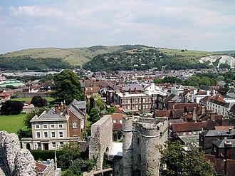 Lewes - Image: Lewes udsigt