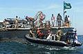 Liberian sailors board the Mauritanian navy patrol boat Limam Elhadrami (P601) March 11, 2013, in Dakar, Senegal, during exercise Saharan Express 2013 130311-N-IY142-423.jpg