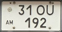 License plate Armenia two lined.JPG