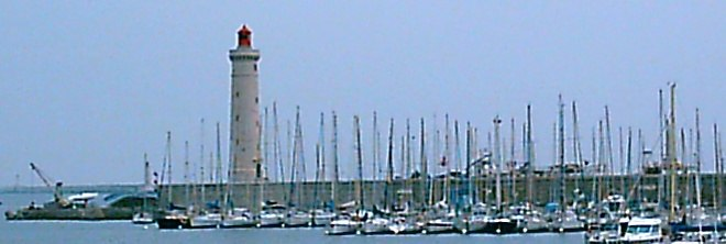 Lighthouse at Sete, France