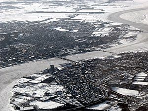 Vendsyssel - Limfjord separating Vendsyssel from mainland Jutland