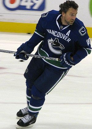 Cyclone Taylor Trophy - Four-time winner (1989, 1991, 1995, 1996), Trevor Linden