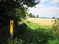 Line of footpath towards Cople from Greensand Ridge Walk footpath - geograph.org.uk - 515874.jpg