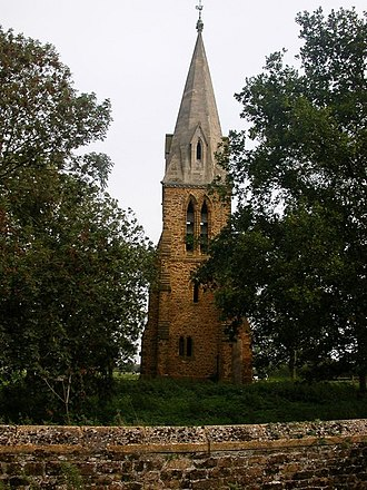 Little Brington - Little Brington church spire