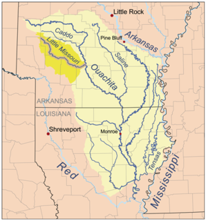 Caddo River river in the United States of America