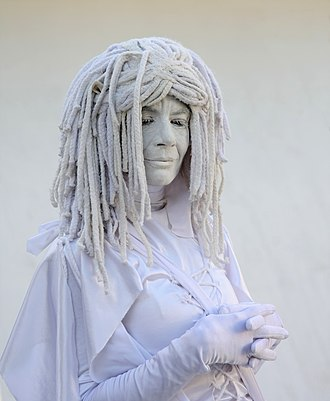 Living statue - Image: Living statue, Miami Beach, FL