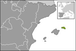 Localització de les Illes Balears Menorca.PNG