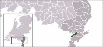 Maasbracht - Former municipality of Maasbracht in Limburg.