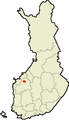 Location of Kauhava in Finland.png
