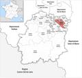 Locator map of Kanton Draveil 2019.png