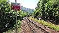 Lochailort railway station, Highland Council, Scotland. View of line towards Arisaig.jpg