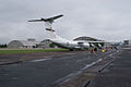 Lockheed C-141C Starlifter Hanoi Taxi RSideRear Hangars kids AirPark NMUSAF 26Sep09 (14413107538).jpg