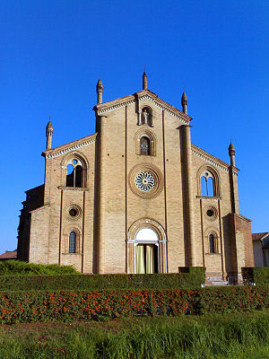 Lodi Vecchio - Church of San Bassiano.
