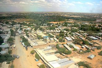Lodwar - View of Lodwar when landing
