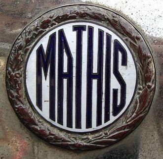 Mathis (cars) - Image: Logo Mathis