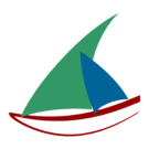 Logo wikiVoyage dhow - 2013 contest (5th version).png