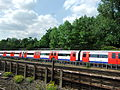 London underground train from the Chiltern Main Line -DSCF0490.JPG