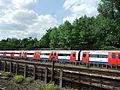 London underground train from the Chiltern Main Line -DSCF0490.JPG