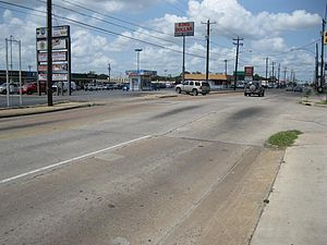 Long Point–Eureka Heights fault system - Image: Long Point Fault SW Houston