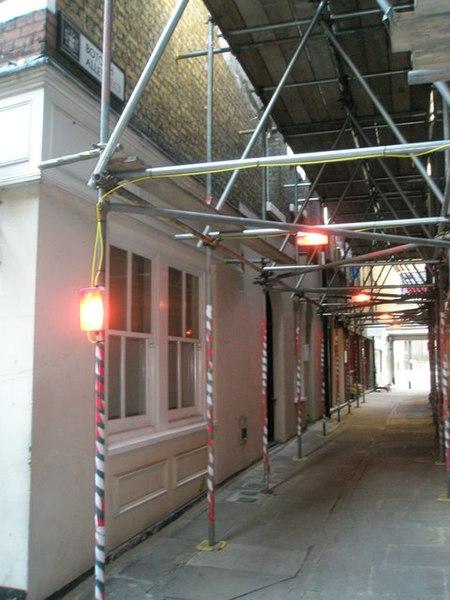 File:Looking westwards along Botolph Alley - geograph.org.uk - 965616.jpg