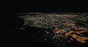 Los Angeles night aerial