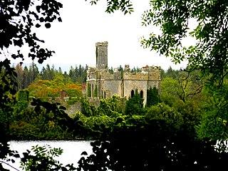 McDermotts Castle castle in Ireland