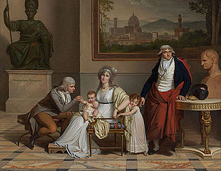 The family of André-François, Count Miot de Melito, (1762-1841) consul of France to Florence