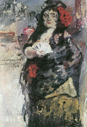 carmencita lovis corinth