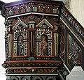 Lummelunda kyrka pulpit detail.jpg