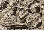 Veena-luit uit Amravati Stupa
