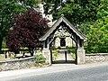 Lychgate of Brayton Parish Church - geograph.org.uk - 194609.jpg