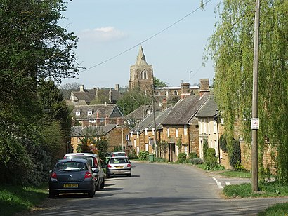 How to get to Lyddington with public transport- About the place