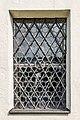 Mölbling Meiselding 1 Pfarrkirche hl. Andreas West-Wand Gitterfenster 29082018 4426.jpg
