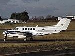 M-JACK Beech Super King Air 200GT (Jetstream Aviation Ltd) (45950466345).jpg