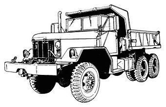 M54 5-ton 6x6 truck | Military Wiki | FANDOM powered by Wikia