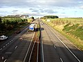 M74 Near Junction 11 - geograph.org.uk - 285692.jpg