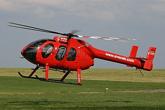 MD Helicopters MD 600 - A MD 600N with NOTAR