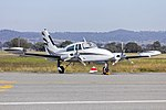 MH George Properties Pty Ltd (VH-KXG) Cessna T310R at Wagga Wagga Airport.jpg