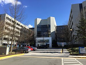Mitre Corporation - Mitre building in McLean, Virginia