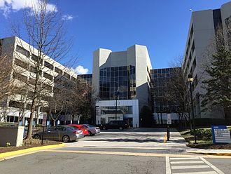 Mitre Corporation - Mitre building in McLean, Virginia