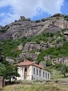 Dabnica Village in Prilep, Republic of Macedonia