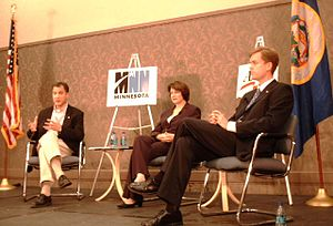 United States Senate election in Minnesota, 2006 - Major party candidates: Kennedy, Klobuchar, and Fitzgerald.