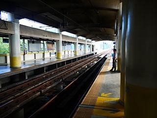 Ortigas station Metro Manila, Philippines metro station