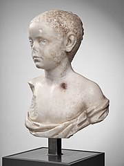 Bust of a young boy Ra 125
