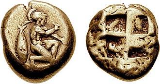 Pharnaces II of Phrygia - Image: MYSIA, Kyzikos. Circa 460 400 BC