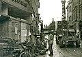 Maastricht, Wycker Brugstraat, aanleg baileybrug, 1944.jpg